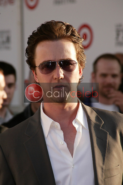 """Edward Norton <br /> at the Los Angeles Film Festival Opening Night """"Down in the Valley"""", Arclight, Hollywood, CA 06-16-05<br /> Jason Kirk/DailyCeleb.com 818-249-4998"""