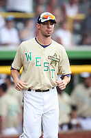 June 24, 2009: Tyson Auer of the Cedar Rapids Kernels at the 2009 Midwest League All Star Game at Alliant Energy Field in Clinton, IA.  Photo by: Chris Proctor/Four Seam Images