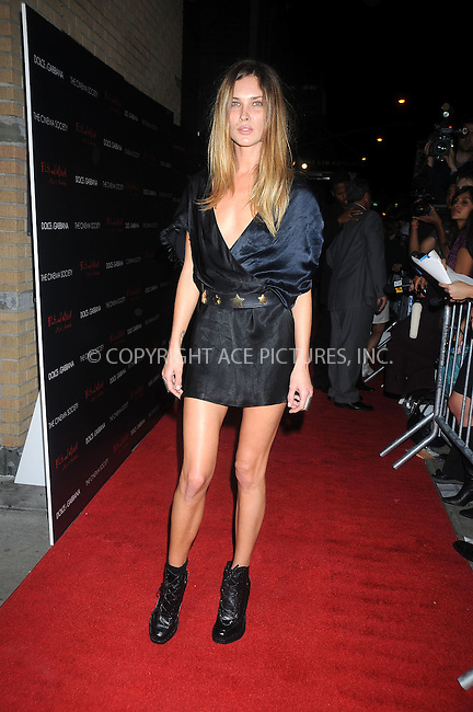 WWW.ACEPIXS.COM . . . . . ....October 13 2008, New York City....Model Erin Wasson arriving at a screening of 'Filth and Wisdom' hosted by The Cinema Society and Dolce and Gabbana at the IFC Center on October 13 2008 in New York City. ....Please byline: KRISTIN CALLAHAN - ACEPIXS.COM.. . . . . . ..Ace Pictures, Inc:  ..(646) 769 0430..e-mail: info@acepixs.com..web: http://www.acepixs.com