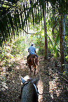 Horse back riding, Cuixmala, Costa Alegre, Jalisco. Eco Chic Hotels, Mexico