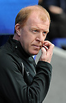 Bolton manager Gary Megson  during the Premier League match at the Reebok Stadium, Bolton. Picture date 12th April 2008. Picture credit should read: Simon Bellis/Sportimage