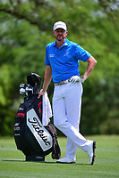 Jimmy Walker (USA) waits to hit his second shot on 8 during round 1 of the Valero Texas Open, AT&amp;T Oaks Course, TPC San Antonio, San Antonio, Texas, USA. 4/20/2017.<br /> Picture: Golffile | Ken Murray<br /> <br /> <br /> All photo usage must carry mandatory copyright credit (&copy; Golffile | Ken Murray)