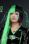 """Japanese cosplayer Nekomu Otogi attends a press conference to unveil the """"Tokyo Comic Con 2016"""" in Tokyo, Japan, on December 4, 2015. The inaugural Tokyo Comic Con will take place at the Mukahari Messe Convention Center from December 3-4, 2016. (Photo by AFLO)"""