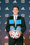 16 January 2014: JJ Koval was selected with the ninth overall pick by the San Jose Earthquakes. The 2014 Major League Soccer SuperDraft was held at the NSCAA Annual Convention in the Pennsylvania Convention Center in Philadelphia, Pennsylvania.