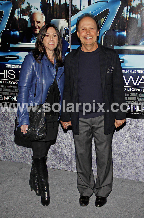 **ALL ROUND PICTURES FROM SOLARPIX.COM**                                             **SYNDICATION RIGHTS FOR UK, AUSTRALIA, DENMARK, PORTUGAL, S. AFRICA, SPAIN & DUBAI (U.A.E) & ASIA (EXCLUDING JAPAN) ONLY**                                                                                  Caption:  Arrivals for the Los Angeles Premiere of His Way, held at the Paramount Pictures Studios, Hollywood, CA, USA. 22 March 2011                                                                           This pic: Billy Crystal                                                                            JOB REF: 13010 PHZ Gabber       DATE: 22_03_2011                                                           **MUST CREDIT SOLARPIX.COM OR DOUBLE FEE WILL BE CHARGED**                                                                      **MUST AGREE FEE BEFORE ONLINE USAGE**                               **CALL US ON: +34 952 811 768 or LOW RATE FROM UK 0844 617 7637**