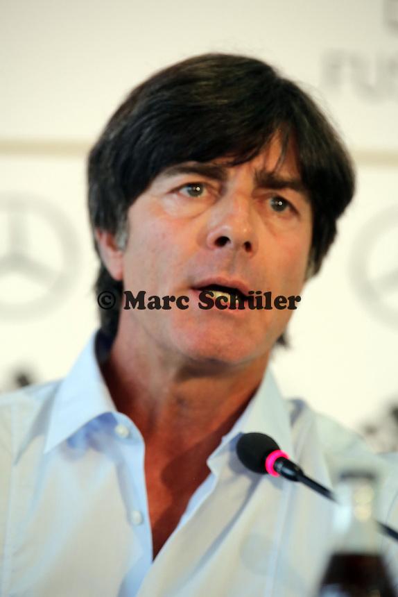 Bundestrainer Joachim Loew - DFB Pressekonferenz zur Nominierung fuer die Laenderspiele