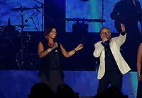 Nino D'Angelo festeggia i suoi 60 anni con un concerto nello stadio San Paolo di Napoli<br /> con Monica Sarnelli