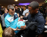Pictured: Wayne Routledge Tuesday 06 December 2016<br />Re: Swansea City FC Christmas Party at the Liberty Stadium, Wales, UK