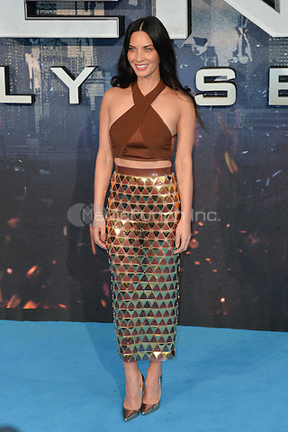 LONDON, ENGLAND - MAY 09  Olivia Munn attends the Global Fan Screening of 'X-Men Apocalypse', at the BFI IMAX, in London, England. 9th May 2016.<br /> CAP/JWP<br /> &copy;JWP/Capital Pictures /MediaPunch ***NORTH AND SOUTH AMERICAN SALES ONLY***