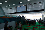 General view,<br /> AUGUST 21, 2018 - Shooting - Rifle : <br /> Men's 50m Rifle 3 Positions Final<br /> at Jakabaring Sport Center Shooting Range <br /> during the 2018 Jakarta Palembang Asian Games <br /> in Palembang, Indonesia. <br /> (Photo by Yohei Osada/AFLO SPORT)