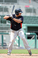 Minnesota Twins infielder TJ White (46) during an Instructional League game against the Boston Red Sox on September 26, 2014 at jetBlue Park at Fenway South in Fort Myers, Florida.  (Mike Janes/Four Seam Images)