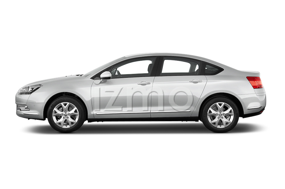 Driver side profile view of a 2010 Citroen C5 Confort 4 Door Sedan 2WD