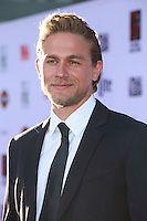 HOLLYWOOD, LOS ANGELES, CA, USA - SEPTEMBER 06: Charlie Hunnam arrives at the Los Angeles Premiere Of FX's 'Sons Of Anarchy' Season 7 held at the TCL Chinese Theatre on September 6, 2014 in Hollywood, Los Angeles, California, United States. (Photo by David Acosta/Celebrity Monitor)