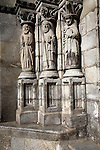 Cathedral statues, Viano do Castelo, Portugal