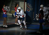 January 9th, 2009:   Kenndal McArdle (22) of the Rochester Amerks is introduced before a game vs. the Syracuse Crunch at Blue Cross Arena in Rochester, NY.  Rochester defeated Syracuse 3-1 for their third straight win.  Photo Copyright Mike Janes Photography 2009