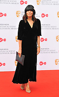Claudia Winkleman at the British Academy (BAFTA) Television Awards 2019, Royal Festival Hall, Southbank Centre, Belvedere Road, London, England, UK, on Sunday 12th May 2019.<br /> CAP/CAN<br /> &copy;CAN/Capital Pictures