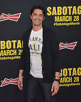 Gilles Marini at the premiere of &quot;Sabotage&quot; at Regal Cinemas L.A. Live.<br /> March 19, 2014  Los Angeles, CA<br /> Picture: Paul Smith / Featureflash