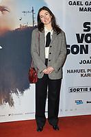 """JOAN CHEMLA (REALISATEUR) - AVANT-PREMIERE DU FILM """"SI TU VOYAIS SON COEUR"""" A L'UGC CINE CITE LES HALLES A PARIS, FRANCE, LE 08/01/2018."""