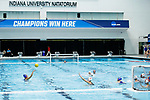 INDIANAPOLIS, IN - MAY 14: General view as Stanford University takes on UCLA during the Division I Women's Water Polo Championship held at the IU Natatorium-IUPUI Campus on May 14, 2017 in Indianapolis, Indiana. (Photo by Joe Robbins/NCAA Photos/NCAA Photos via Getty Images)