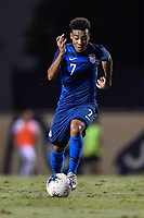 Miami, FL - Tuesday, October 15, 2019:  Jonathan Lewis #7 during a friendly match between the USMNT U-23 and El Salvador at FIU Soccer Stadium.