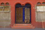 Doorway in downtown Nogales, Sonora, Mexico