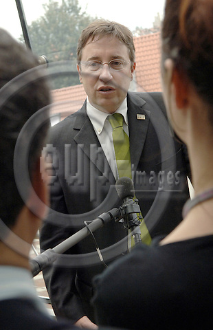 Brussels-Belgium - 30 May 2006---Achim STEINER, elected new (as of June 15, 2006) Executive Director of UNEP - United Nations Environment Programme---Photo: Horst Wagner/eup-images