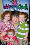 Geraldine Poff Milltown who has been nominated for the Infant  and Maternity Magazine business Mum of the Year with her three kids Aoife, Oisin and Niamh   Copyright Kerry's Eye 2008