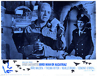 Birdman of Alcatraz (1962) <br /> Lobby card with Burt Lancaster &amp; Neville Brand<br /> *Filmstill - Editorial Use Only*<br /> CAP/KFS<br /> Image supplied by Capital Pictures