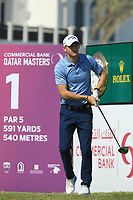 Tom Murray (ENG) in action during the final round of the Commercial Bank Qatar Masters, Doha Golf Club, Doha, Qatar. 10/03/2019<br /> Picture: Golffile | Phil Inglis<br /> <br /> <br /> All photo usage must carry mandatory copyright credit (&copy; Golffile | Phil Inglis)