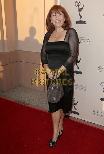 BETH ARMSTRONG.the Academy of Television Arts & Scienes' Writers Peet Group Emmy Celebration held Leonard H. Goldenson Theatre, North Hollywood, CA, USA..August 24th, 2010.full length black dress sheer sleeves .CAP/ADM/FS.©Faye Sadou/AdMedia/Capital Pictures.