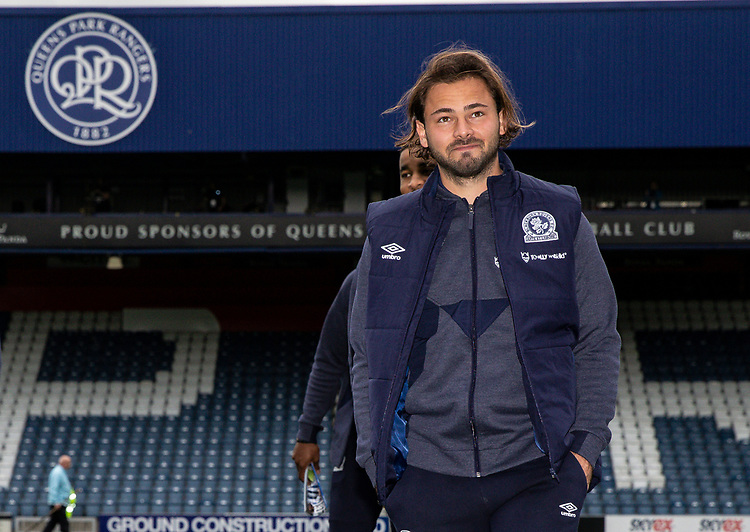 Blackburn Rovers' Bradley Dack pictured before the match<br /> <br /> Photographer Andrew Kearns/CameraSport<br /> <br /> The EFL Sky Bet Championship - Queens Park Rangers v Blackburn Rovers - Saturday 5th October 2019 - Loftus Road - London<br /> <br /> World Copyright © 2019 CameraSport. All rights reserved. 43 Linden Ave. Countesthorpe. Leicester. England. LE8 5PG - Tel: +44 (0) 116 277 4147 - admin@camerasport.com - www.camerasport.com