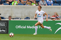 Bridgeview, IL - Sunday August 20, 2017: Shea Groom during a regular season National Women's Soccer League (NWSL) match between the Chicago Red Stars and FC Kansas City at Toyota Park.