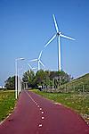 Turbinas de vento em Amsterdã, Holanda. 2007. Foto:Marcio Nel Cimatti.