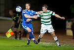 St Johnstone v Celtic..27.10.10  .Alan Maybury and Niall McGinn.Picture by Graeme Hart..Copyright Perthshire Picture Agency.Tel: 01738 623350  Mobile: 07990 594431