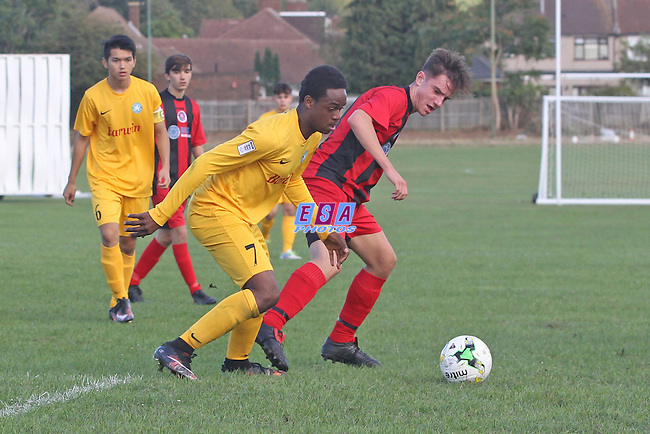 GREENWICH BOROUGH v WHYTELEAFE<br /> KENT YOUTH LEAGUE<br /> U16 NORTH<br /> SAMMUEL MONTAGUE GRASS<br /> SUNDAY 2ND OCTOBER 2016