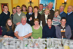 7730-7735.Happy Birthday - Mary Donnelly from Glin, now living in London, seated centre having a wonderful time with friends and family at her 60th birthday party held in The Gables, Athea on Friday night. Seated l/r Laura Coogan, John, Mary, Paul and Sean Donnelly. Standing l/r Richard, Cathleen & David Falconer, Lesley Galea, Kieran, Eileen & Tom Murphy, Christina, Mike, Annie & Patrick McMahon and Joseph Galea.