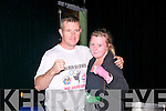 Night Of Champions : Naomi O'Brien with her father & coach Michael O'Brien pictured prior to her world title fight at  the Golden Gloves  Night Of Champions Kick Boxing Fights at the Listowel Community Centre on Saturday night last.