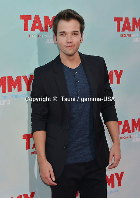 Nathan Kress 167 at the Tammy Premiere at the Chinese Theatre In Los Angeles.