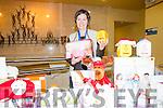 Ballybunion XMas Fair: Marion Costello displaying her goods at the Ballybunion  Xmas fair at the Tintean Theatre on Sunday last.