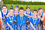 Estuary AC athletes at the Kerry AAI Championships in Castleisland on Sunday was l-r: Jamie Kelly, Tony O'Sullivan, Kerry Anne, Tady Finucane, Rio Barran, Reiss Barron and Tara Finucane   Copyright Kerry's Eye 2008
