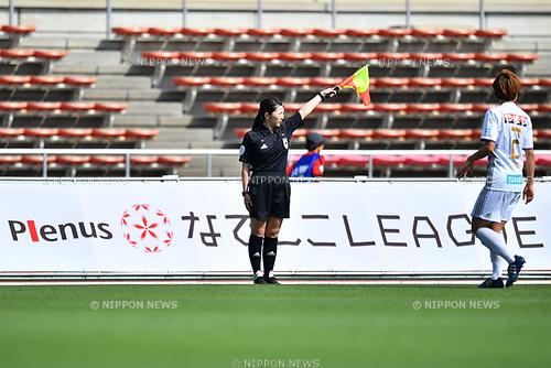 ッゥ/Referee, <br /> JUNE 17, 2017 - Football / Soccer : <br /> Plenus Nadeshiko League Cup 2017 Division 1 <br /> match between Urawa Reds Ladies 0-0 Vegalta Sendai Ladies <br /> at Saitama Urawa Komaba Stadium in Saitama, Japan. <br /> (Photo by MATSUO.K/AFLO SPORT)