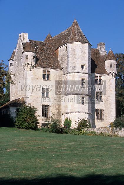 Europe/France/Normandie/Basse-Normandie/61/Orne/Parc Naturel Régional du Perche/Nocé : Manoir de Courboyer