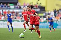 Portland, Oregon - Sunday May 29, 2016: Portland Thorns FC forward Hayley Raso (21). The Portland Thorns play the Seattle Reign during a regular season NWSL match at Providence Park.