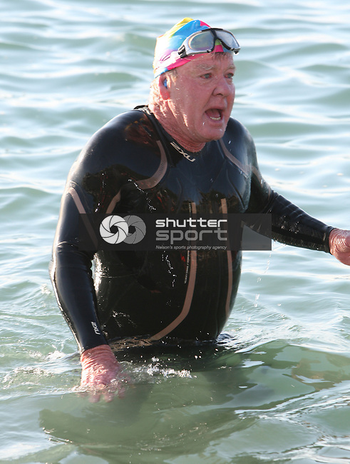 South Island Masters Games Sea SwimTuesday 20/10/11.Evan Barnes / Shuttersport