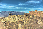 Zabriskie Point, Death Valley/HDR