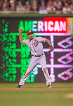 20 September 2013: Washington Nationals infielder Anthony Rendon in action against the Miami Marlins at Nationals Park in Washington, DC. The Nationals defeated the Marlins 8-0 to take the second game of their 4-game series. Mandatory Credit: Ed Wolfstein Photo *** RAW (NEF) Image File Available ***