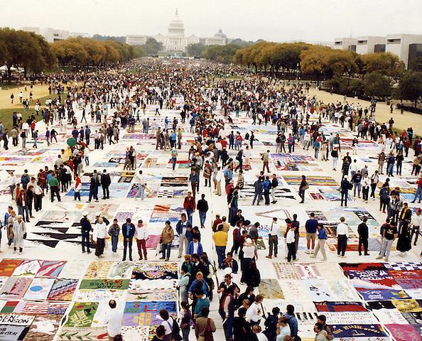 Names Project AIDS Memorial Quilt - Washington, DC April 25, 1993