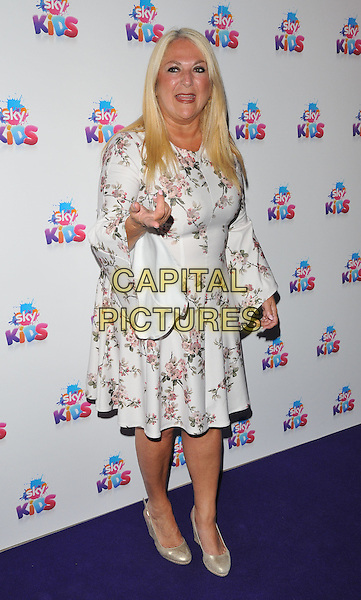 Vanessa Feltz at the Sky Kids Cafe VIP launch party, The Vinyl Factory, Marshall Street, London, England, UK, on Sunday 29 May 2016.<br /> CAP/CAN<br /> &copy;CAN/Capital Pictures