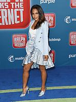 05 November 2018 - Hollywood, California - Christina Milian. Disney's &quot;Ralph Breaks the Internet&quot; Los Angeles Premiere held at El Capitan Theater. <br /> CAP/ADM/BT<br /> &copy;BT/ADM/Capital Pictures