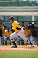 Pittsburgh Pirates Jhoan Herrera (78) during an instructional league intrasquad black and gold game on September 18, 2015 at Pirate City in Bradenton, Florida.  (Mike Janes/Four Seam Images)